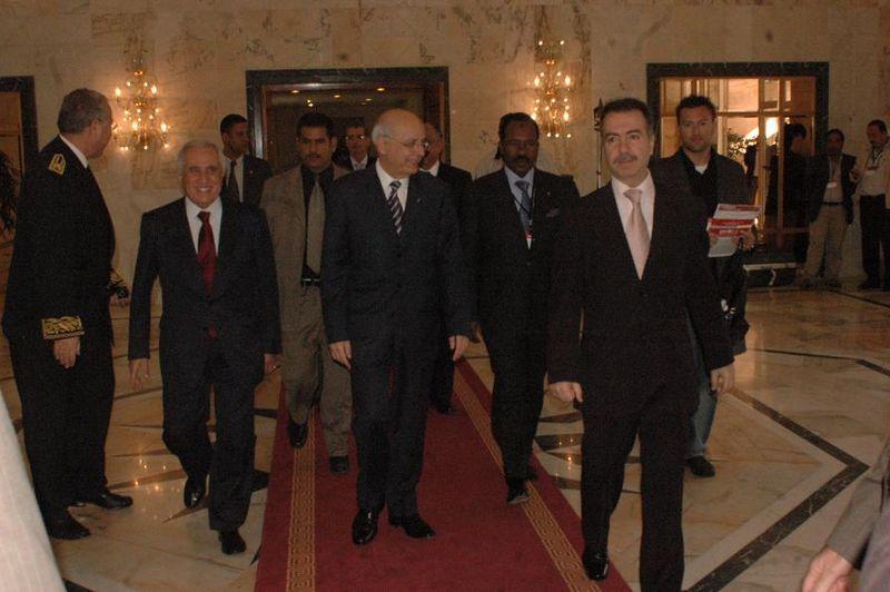 TUNISIA-ECONOMIC-FORUM - 2008
